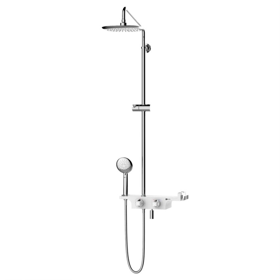 Душевая система Lemark Tropic LM7008С для ванны и душа, термостатический (LM7008C)