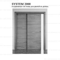 Комплект фурнитуры Krona Koblenz 2000 для параллельных дверей