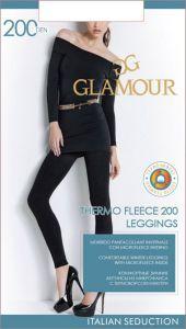 Колготки GLAMOUR Velour 200den Nero 3