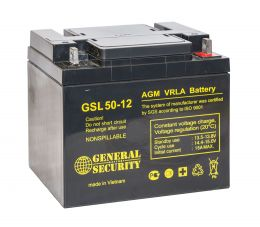 Аккумулятор General Security GSL50-12