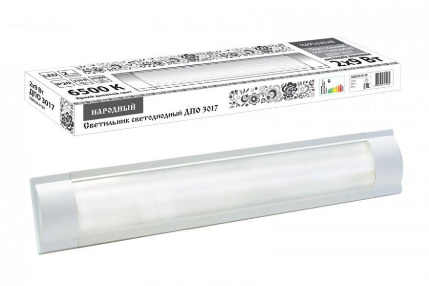 Светильник светодиодный TDM SQ0329-0129 2*9W белый