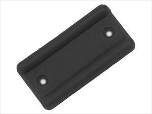 Подпятник для мебели, черный (1000 шт/уп) (Ппч)