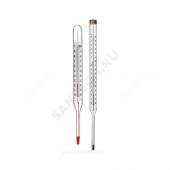 Термометр керосиновый ТТЖ-М 100С прямой 240 Стеклоприбор 100211