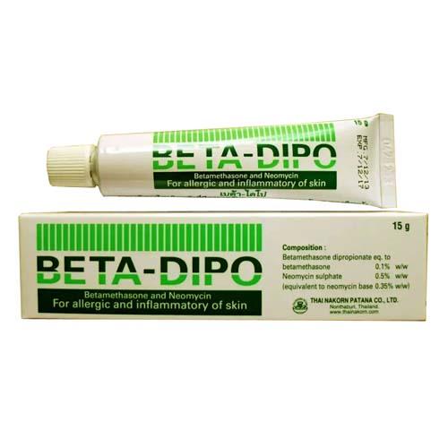 Мазь Beta-Dipo для лечения аллергии и воспалений кожи 15 гр