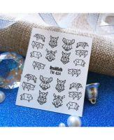 Слайдер-дизайн «Новый Год» TM-824 Dream Nails (водные наклейки)