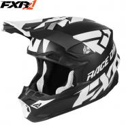 Шлем FXR Blade 2.0 Race Div - Black White