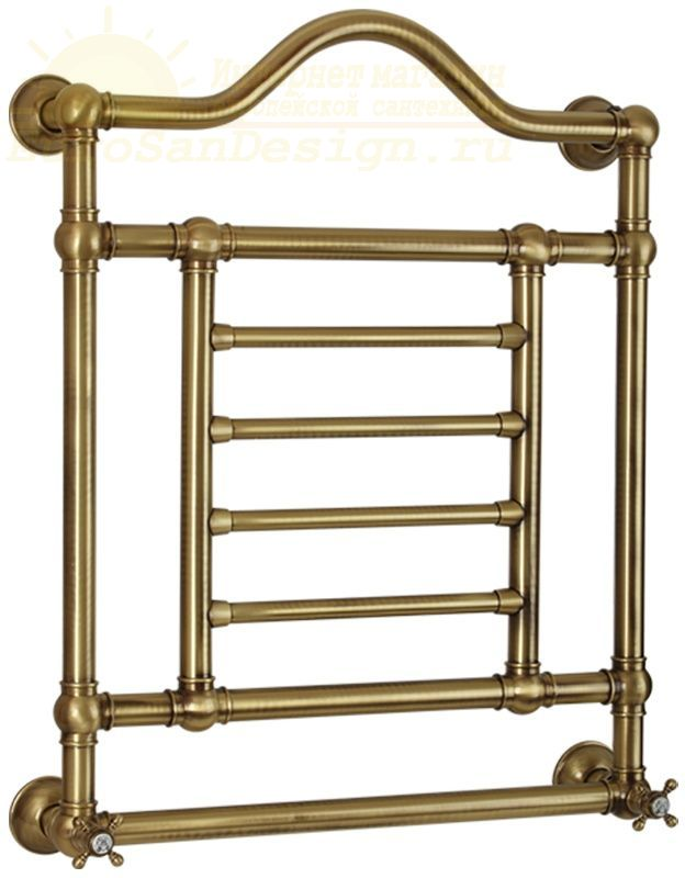 Бытовой водяной полотенцесушитель для ванной лесенка Migliore Edward ML.EDW-HY.600.br 60x77,5 ФОТО