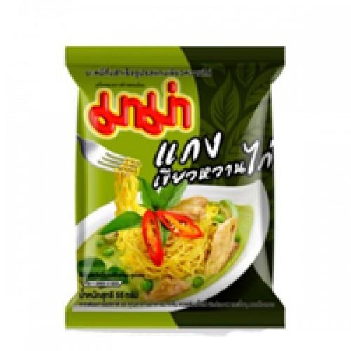 Тайский суп лапша Зеленый Карри с курицей MАМА