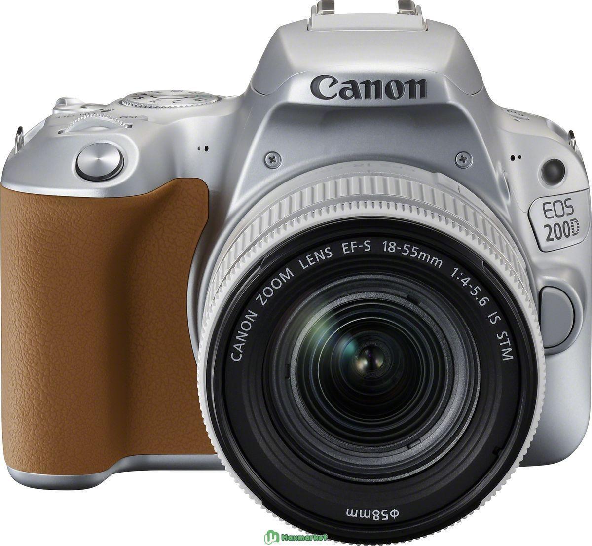Canon 200D kit 18-55 STM (Silver)