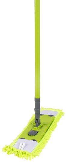 Aqualine Швабра Коконет с телескопической ручкой из микроволокна