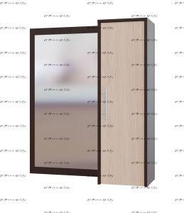 Прихожая Сокол ПЗ-4 зеркало cо шкафом (90х29х104)