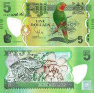 ФИДЖИ - 5 Долларов. UNC/Пресс