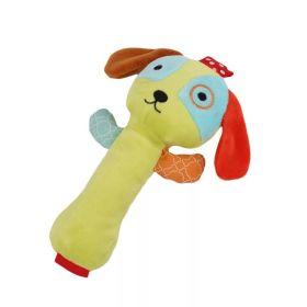 Игрушка-пищалка с погремушкой Щенок