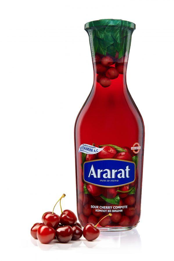 """Компот вишневый """"ARARAT"""" 1,0л ст/б"""