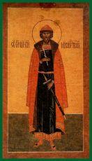 Икона Михаил Тверской  благоверный князь