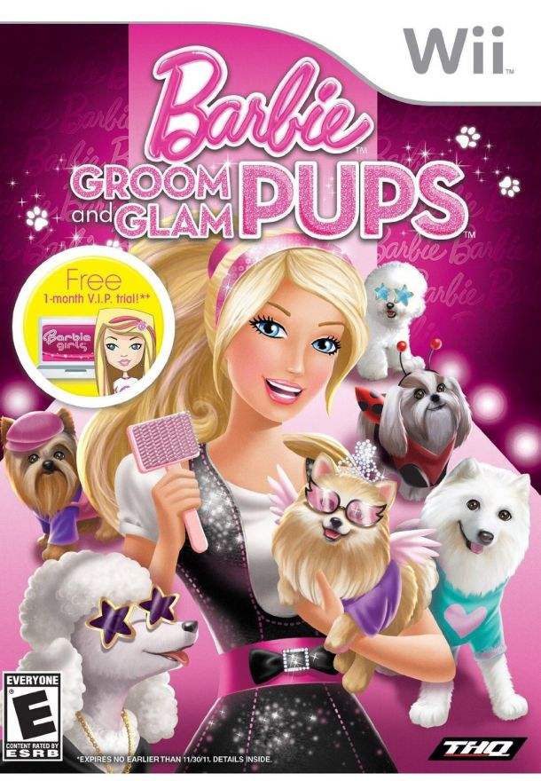 Игра Barbie Groom and Glam Pups (Nintendo Wii)