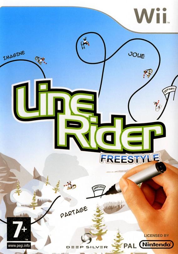 Игра Line Rider Freestyle (Nintendo Wii)