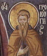 Икона Прокопий Декаполит преподобный