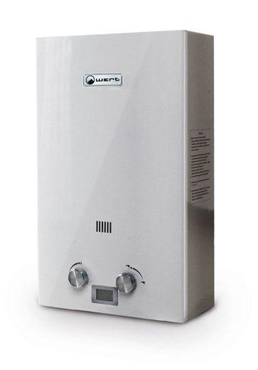Автоматический газовый водонагреватель Wert 12E Silver