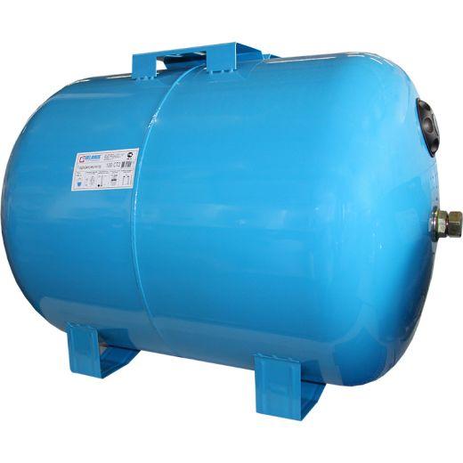 Гидроаккумулятор 100СТ синий, горизонтальный