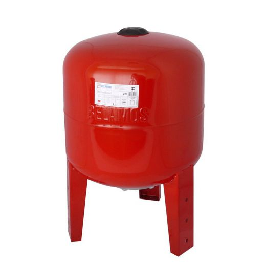 Расширительный бак 36VW красный, вертикальный