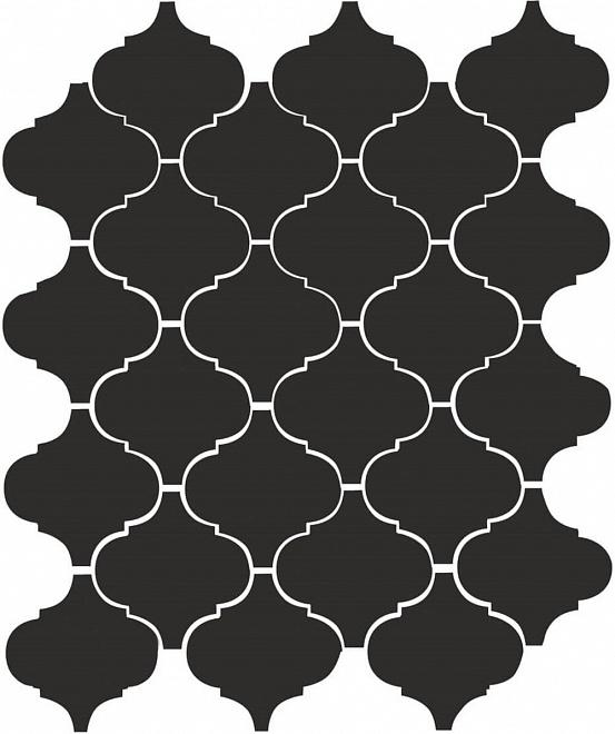 65001 | Арабески глянцевый черный