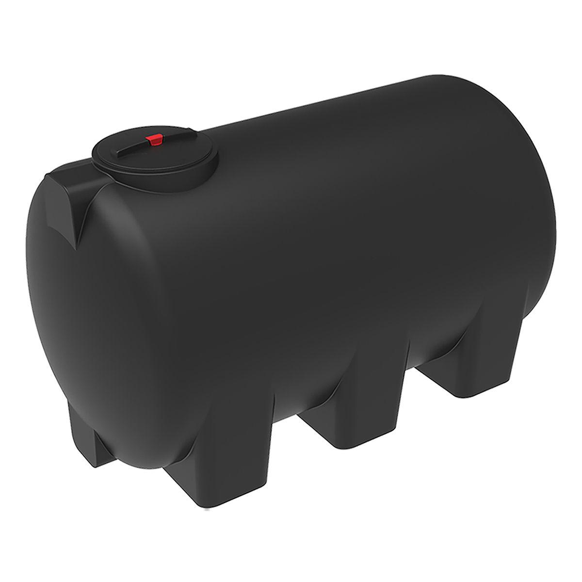 Емкость H 3000 литров пластиковая черная