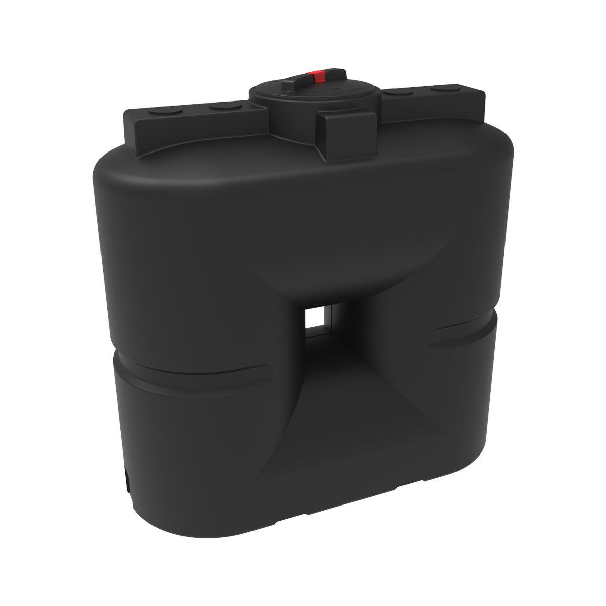Бак для воды S 750 литров черный пластиковый