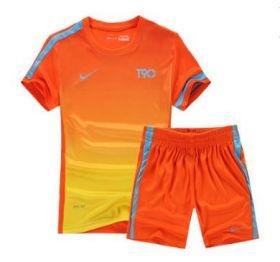 Форма футбольная детская  Nike T90 оранжевая