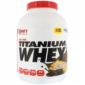100% Pure Titanium Whey от SAN 2270 гр 75 пор