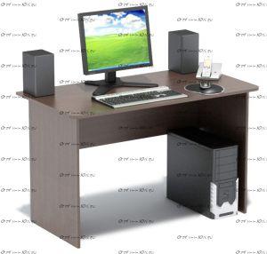 Стол компьютерный Сокол СПМ-02(СПМ-02.1) (120х60х74)