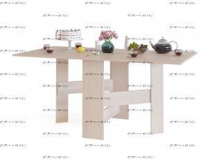 Стол-книжка обеденный Сокол СП-05.1 (163х85х74)