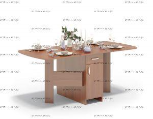 Стол-книжка обеденный Сокол СП-09(СП-09.1) (176х80х74)