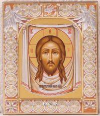 Икона Спас Нерукотворный (9х10,5см)