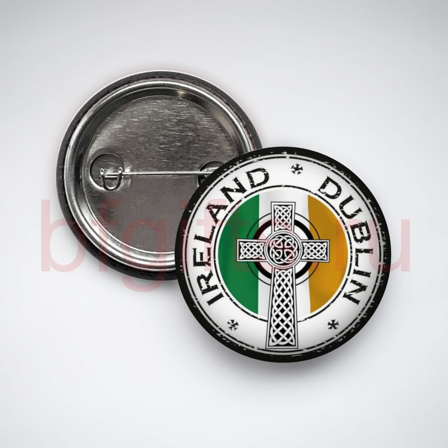 Значок Ирландский крест