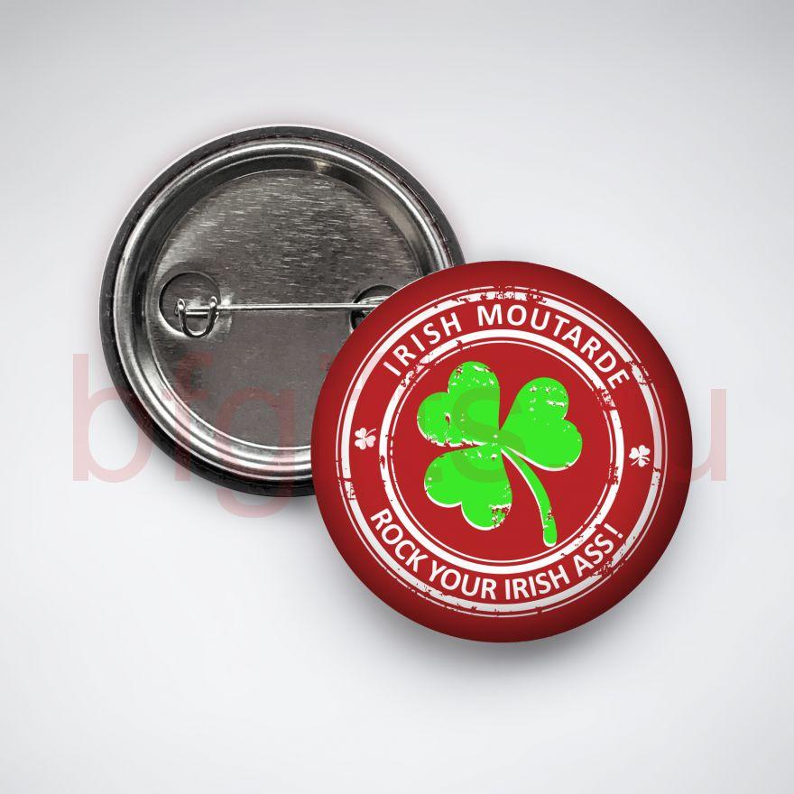 Значок Irish moutarde