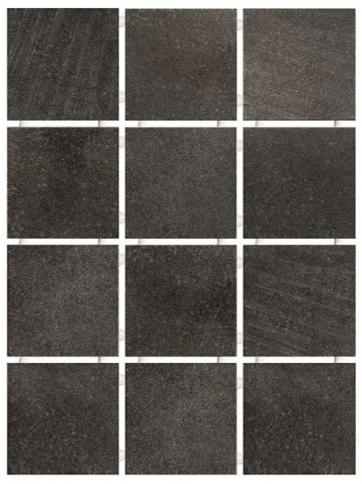 1222 | Караоке чёрный, полотно 30х40 из 12 частей 9,8x9,8