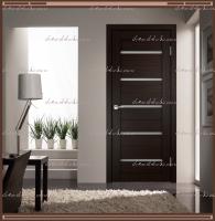 Межкомнатная дверь DUPLEX  Венге, стекло - Мателюкс :