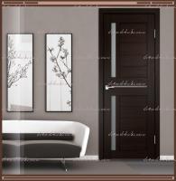 Межкомнатная дверь DUPLEX 3  Венге, стекло - Мателюкс :