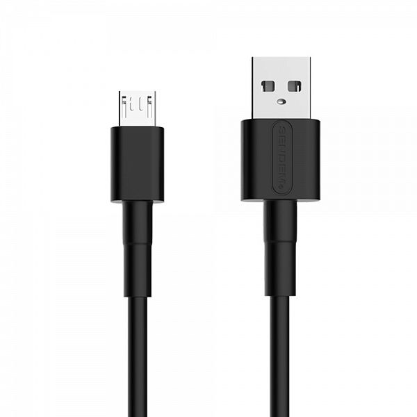 Кабель USB 5А SENDEM M66 Черный (microUSB) 1м
