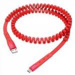 Кабель USB 2.4А HOCO U78 Красный (TYPE C) 1.2м