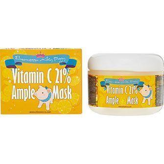 Разогревающая маска Elizavecca vitamin c 21% ample mask