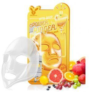 [Elizavecca] НАБОР/Тканевая маска д/лица с Витаминами VITA DEEP POWER Ringer mask pack, 10 шт