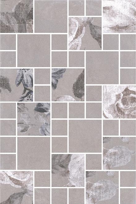 180/8266 | Декор Александрия серый мозаичный