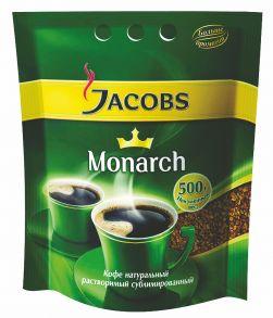 Кофе натуральный растворимый «JACOBS Monarch»