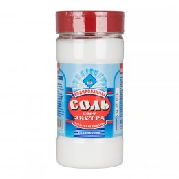 Соль Экстра выварочная йодированная 500гр