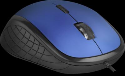 Проводная оптическая мышь Accura MM-520 оптика,6 кнопок,1600dpi, синий