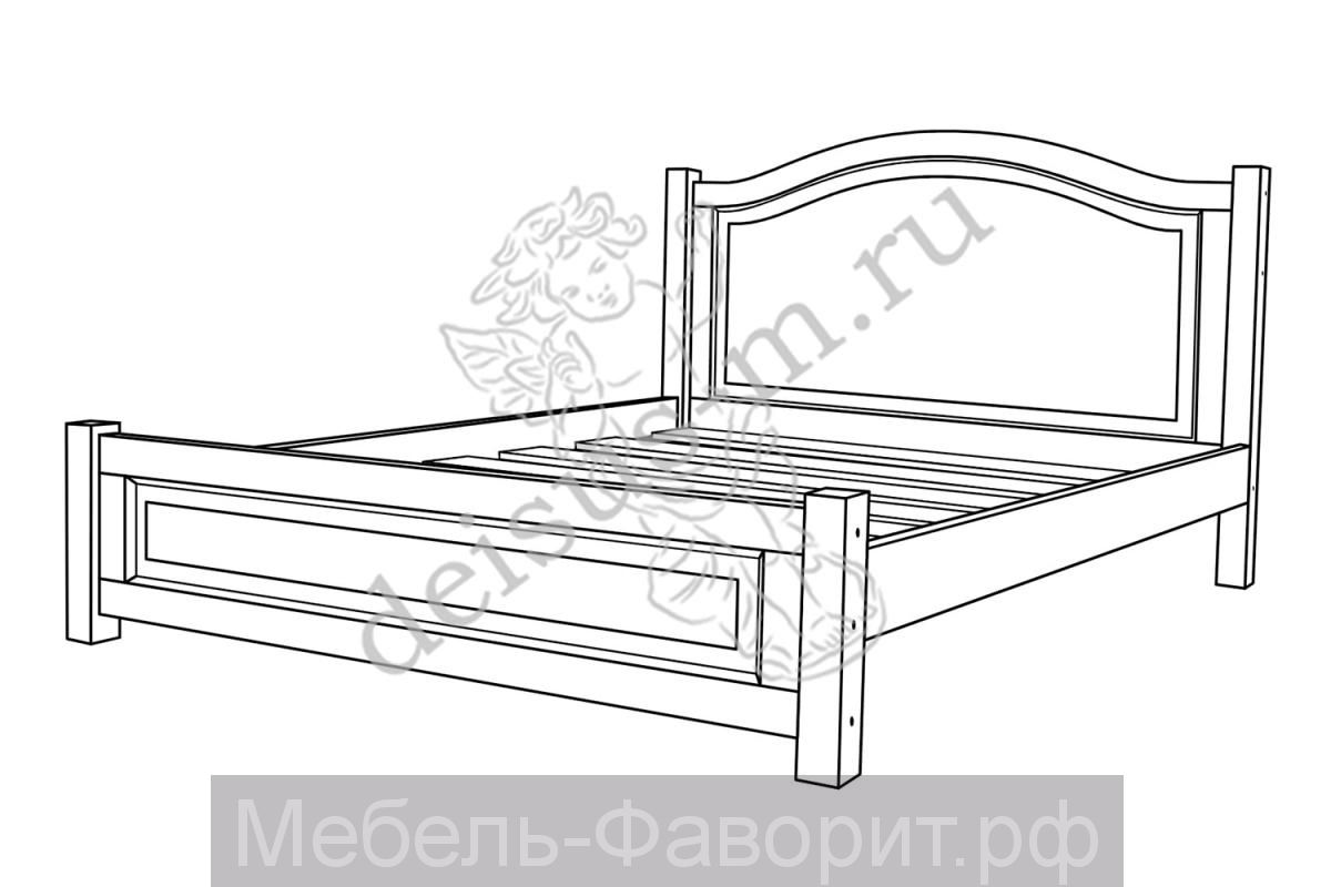 Кровать Белона-М