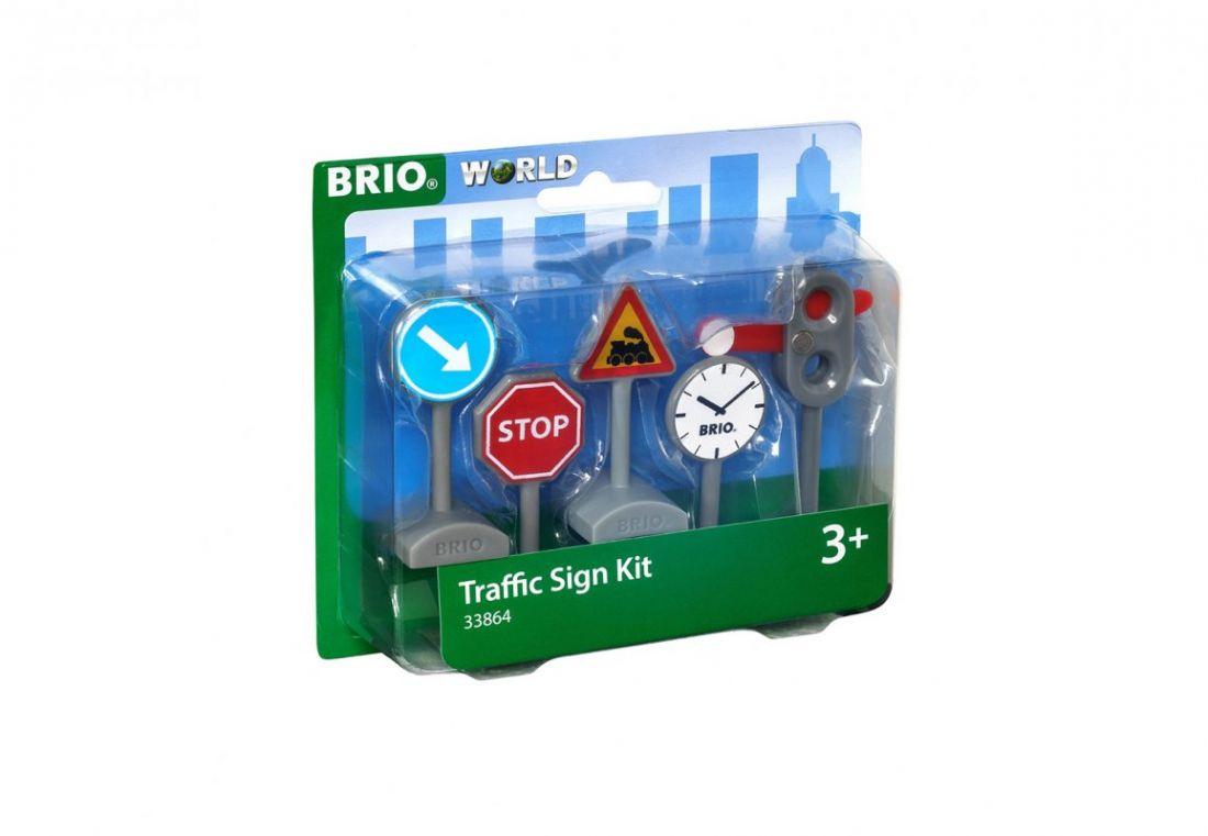 BRIO Набор из 5 дорожных знаков, размер упаковки, кор.