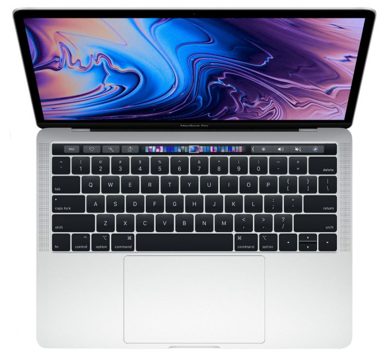 Apple MacBook Pro 13 (2018) 256Gb Silver (MR9U2)
